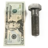 how to hide stuff in plain sight: Money in a screw