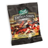 Tortilla strips for soups and salads