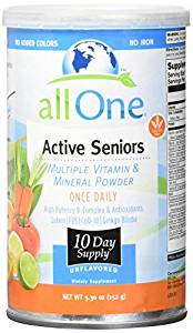 Active Seniors vitamin powder