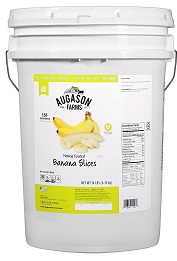 Augason farms honey coated banana slices