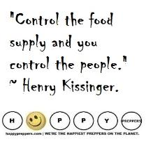 Control the Food ~ Kissinger