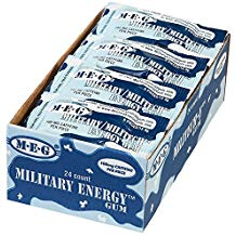 Military gum bulk 24 pack artic mint