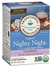 Organic Nighty Night Valerian Root Tea