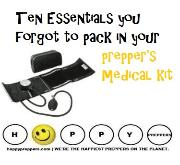 Ten essentials for e prepper's medical kit