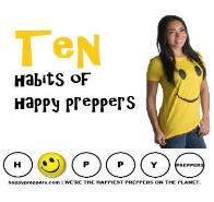 Ten habits of happy preppers