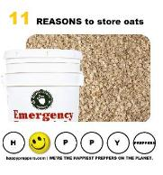 11 Reasons to Store Oats