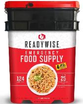ReadyWise Food Supply 124 Servings