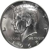 Kennedy Half dollars with collector value