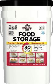 30-days food Storage