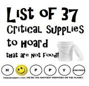 List of 37 critical supplies to hoard that are not food