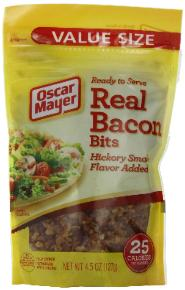 Real bacon - shelf stable food