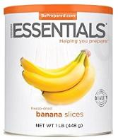 Emergency Esssentials ~ bananna slices