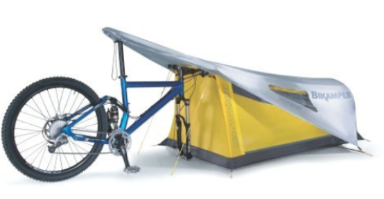 Bicycle tent