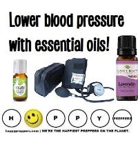 Lower Blood Pressure with Essential Oils