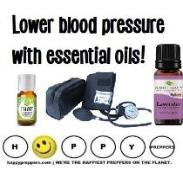 Lower your blood pressure with Essential oils