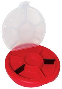 Bucket storage lid