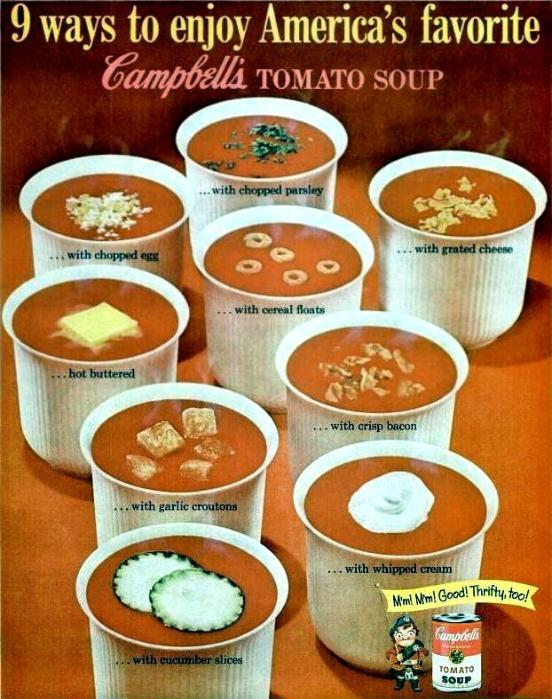 Vintage campbell's ad