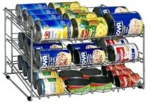 Food Rotation System: can food storage rack
