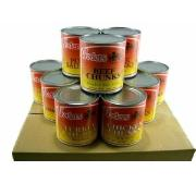 Bulk canned meat variety pack - emergency food storage
