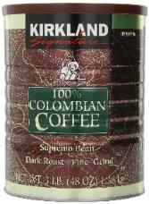 Coffee in  a can by Kirkland