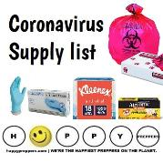 Coronavirus Supply List