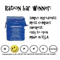 Datrex is the winning ration bar