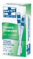 Disposable thermometer for Pandemic preparedness