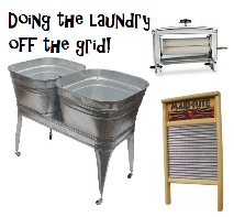 Doing laundry offgrid