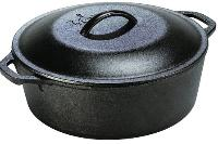 Dutch Oven (cast iron pot with lid)