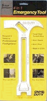Emergenc tool gas and water shutoff
