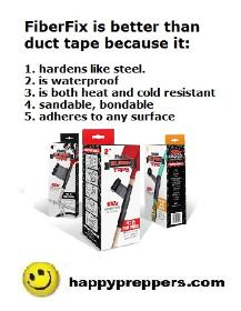 FiberFix is the duct tape that hardens like steel!