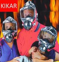 Kikar Fire mask
