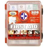 First Aid kit - comprehensive, exceeds OSHA and ANSI guidelines