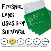 Fresnel lens uses for survival