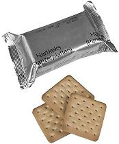 German Army food rations 4 pack pilot crackers