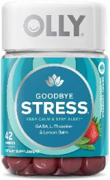 Goodbye Stress Gummy supplements