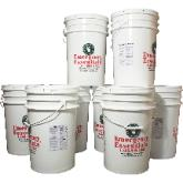 Supersize your food storage with buckets of emergency foods