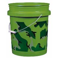 Green Utility bucket without lid