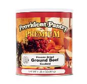 Provident pantry packaging for ground beef (old)
