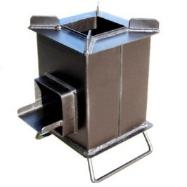 heavy duty rocket stove by Grover