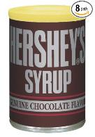 8 cans Hershey's syrup delivered to your door for around $14