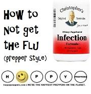 how to NOT get the flu (prepper style)