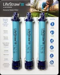 Lifestraw Three pack