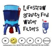 Lifestraw gravity fed water filters