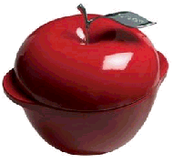 Apple cast iron dutch oven