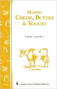 Making butter cheese and yogurt