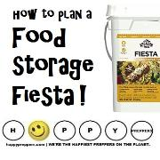 How to plan a Mexican fiesta food storage