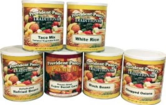 Mexican food combination prepper's pantry