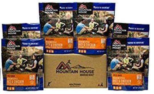 Mountain House Mexican Rice and Chicken Pouches