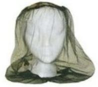 Mosquito net head covering